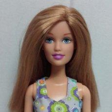 Barbie y Ken: MUÑECA BARBIE PELIRROJA CON VESTIDO ORIGINAL DE MATTEL. Lote 62774256