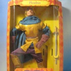 Barbie y Ken - PHOEBUS PERSONAJE DE EL JOROBADO DE NOTRE DAME DISNEY NUEVO EN CAJA DE MATTEL 1995 - 69916465
