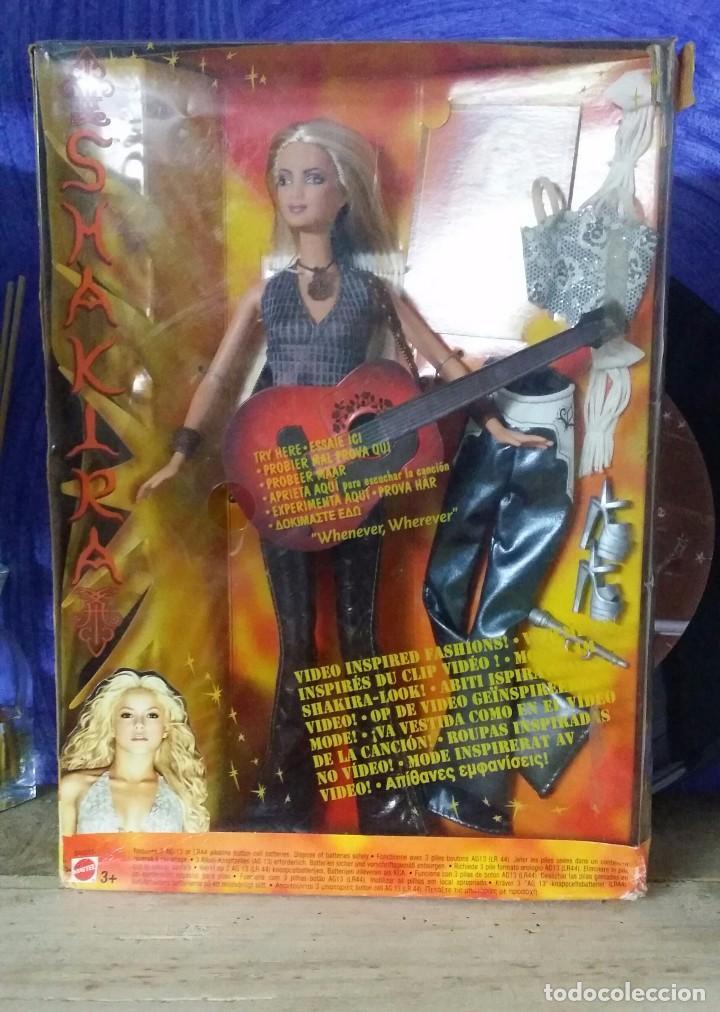 BARBIE SHAKIRA (Juguetes - Muñeca Extranjera Moderna - Barbie y Ken)