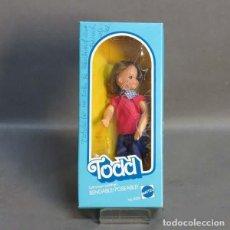 Barbie y Ken: BARBIE TODD EN SU CAJA ORIGINAL. MATTEL 1976.. Lote 73369107