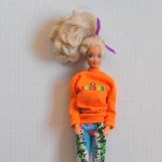 Barbie y Ken: MUÑECA BARBIE COLORS NUCA MATTEL INC 1976 CUERPO MATTEL INC 1966 CHINA - ROPA ORIGINAL. Lote 74747167