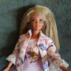 Barbie y Ken: MUÑECA BARBIE MARCA EN LA NUCA MATTEL INC. 1976 Y EN LA ESPALDA MATTEL 1988. Lote 75483643