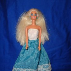 Barbie y Ken: BARBIE - CON VESTIDO ORIGINAL CONGOST, EN LA NUNCA MATTEL INC 1976, VER FOTOS Y DESCRIPCION!!! SBB. Lote 202749307