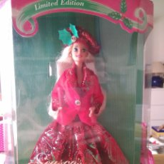Barbie y Ken: SEASON'S GREETINGS BARBIE - FIRST SAM CLUB LIMITED EDITION - EDICIÓN LIMITADA - MATTEL 1994. Lote 78038149