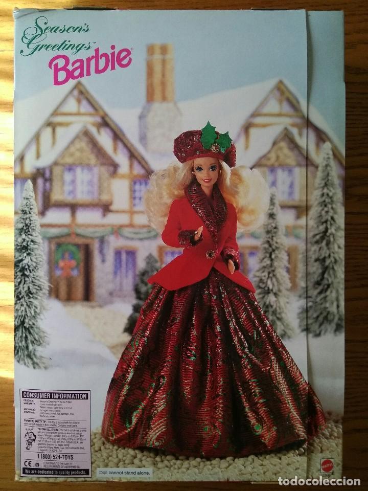 Barbie y Ken: SEASON'S GREETINGS BARBIE - FIRST SAM CLUB LIMITED EDITION - Edición limitada - Mattel 1994 - Foto 2 - 78038149