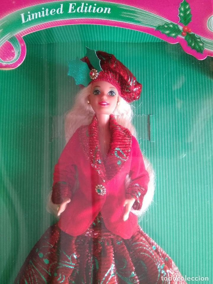 Barbie y Ken: SEASON'S GREETINGS BARBIE - FIRST SAM CLUB LIMITED EDITION - Edición limitada - Mattel 1994 - Foto 3 - 78038149