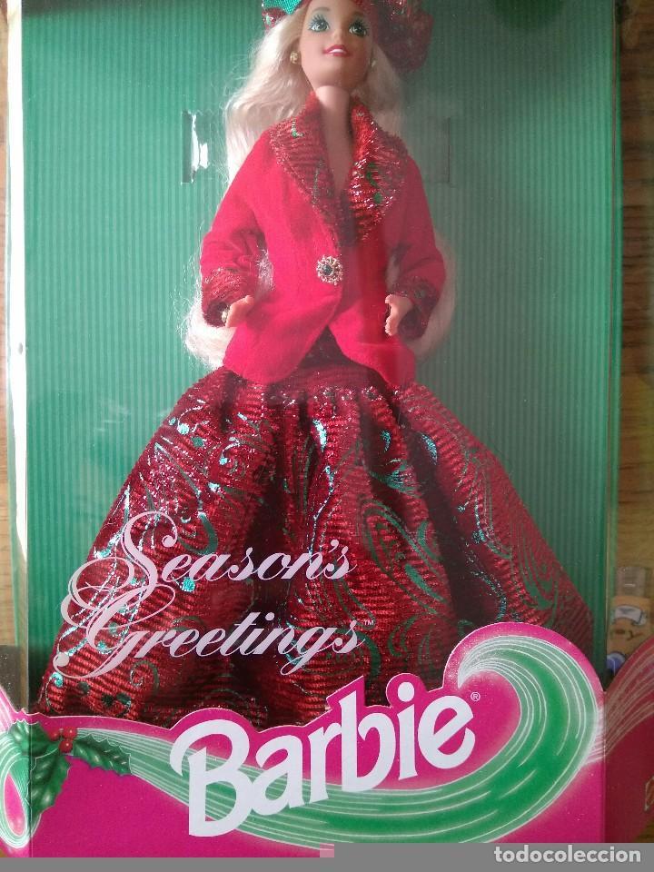 Barbie y Ken: SEASON'S GREETINGS BARBIE - FIRST SAM CLUB LIMITED EDITION - Edición limitada - Mattel 1994 - Foto 4 - 78038149