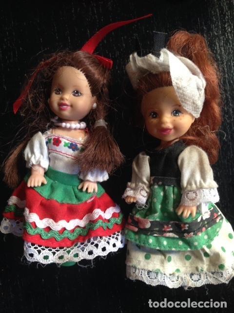 MUÑECA CHELSEA - KELLY - MATTEL - MEDIDAS 10 CMS (Juguetes - Muñeca Extranjera Moderna - Barbie y Ken)