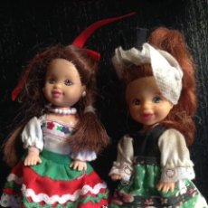 Barbie y Ken: MUÑECA CHELSEA - KELLY - MATTEL - MEDIDAS 10 CMS . Lote 79312985