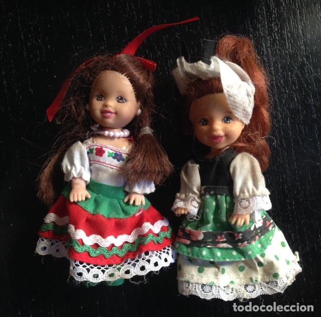 Barbie y Ken: MUÑECA CHELSEA - KELLY - MATTEL - MEDIDAS 10 CMS - Foto 2 - 79312985