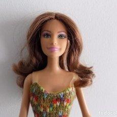 Barbie y Ken: BARBIE CASTAÑA MATTEL . Lote 80238893