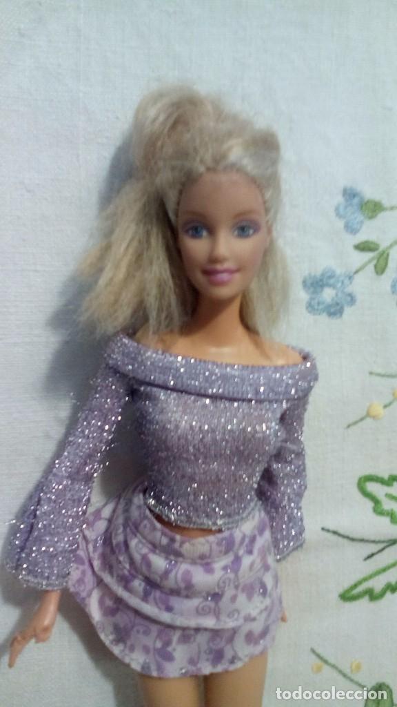 BARBIE DE MATTEL CONJUNTO VIOLETA 1998 (Juguetes - Muñeca Extranjera Moderna - Barbie y Ken)