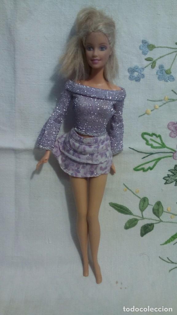Barbie y Ken: Barbie de Mattel conjunto violeta 1998 - Foto 2 - 81697796