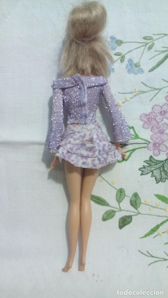 Barbie y Ken: Barbie de Mattel conjunto violeta 1998 - Foto 3 - 81697796