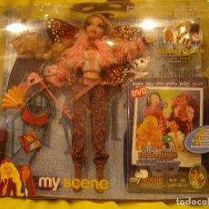 Barbie y Ken: MUÑECA BARBIE MY SCENE MASQUERADE DISFRAZ DE MARIPOSA CON DVD, NUEVA SIN ABRIR.. Lote 231837475