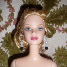 Barbie y Ken: PRECIOSA BARBIE DE COLECCION CON SUPER PEINADO TRENZADO EN UN MOÑO NUEVA DE CAJA. Lote 85497712