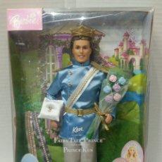 Barbie y Ken: KEN PRÍNCIPE. FAIRY TALE PRINCE. NUEVO EN CAJA. BARBIE. MATTEL. REF B6384. PRÍNCIPE AZUL / ENCANTADO. Lote 86394868