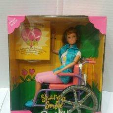 Barbie y Ken: BECKY. AMIGA DE BARBIE. NUEVA EN CAJA. SHARE A SMILE. MATTEL. REF 15761. 1996.. Lote 95498683