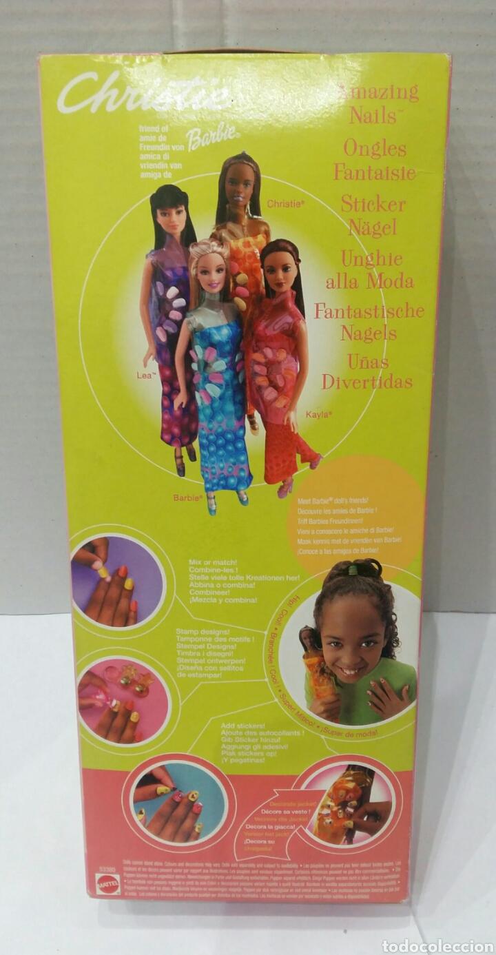 Barbie y Ken: CHRISTIE. UÑAS DIVERTIDAS. AMAZING NAILS. NUEVA EN CAJA. BARBIE. MATTEL. REF 53380. - Foto 4 - 86459743