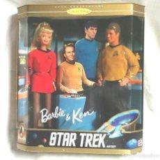 Barbie e Ken: EDICIÓN ESPECIAL COLECCIONISTA DE 1996 PARA CONMEMORAR EL 30 ANIVERSARIO DE STAR TREK.. Lote 112482074