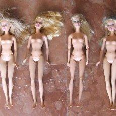 Barbie y Ken: LOTE DE SEIS MUÑECAS BARBIE DE MATTEL – ESTADO TAL CUAL LAS FOTOGRAFIAS. Lote 90234724