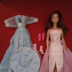 Barbie y Ken: LOTE DE BARBIE ACTUAL CON VESTIDOS Y ZAPATOS . Lote 91971745