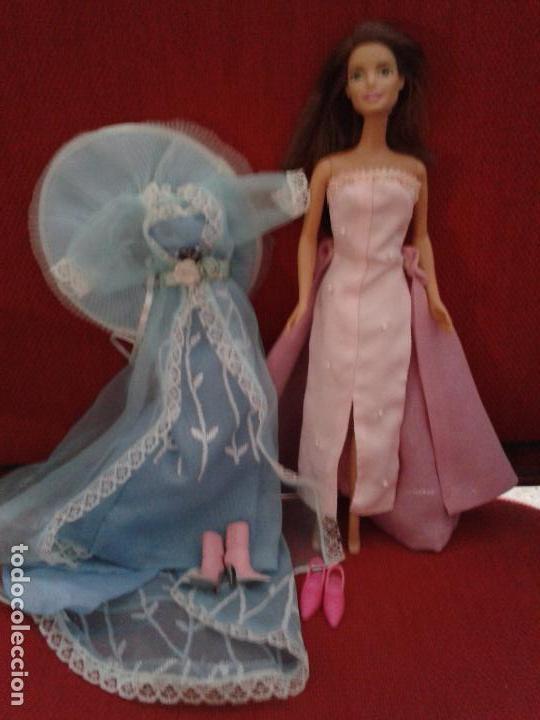 Barbie y Ken: LOTE DE BARBIE ACTUAL CON VESTIDOS Y ZAPATOS - Foto 2 - 91971745