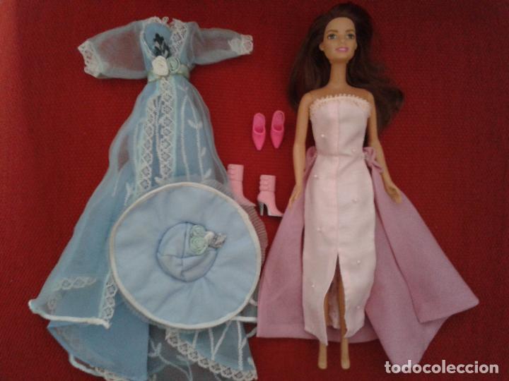 Barbie y Ken: LOTE DE BARBIE ACTUAL CON VESTIDOS Y ZAPATOS - Foto 5 - 91971745