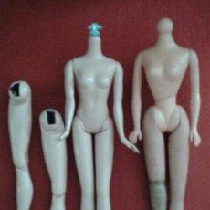 Barbie y Ken: LOTE DE REPUESTOS DE BARBIE Y MUÑECA PETRA (MARCADA ). Lote 91971955