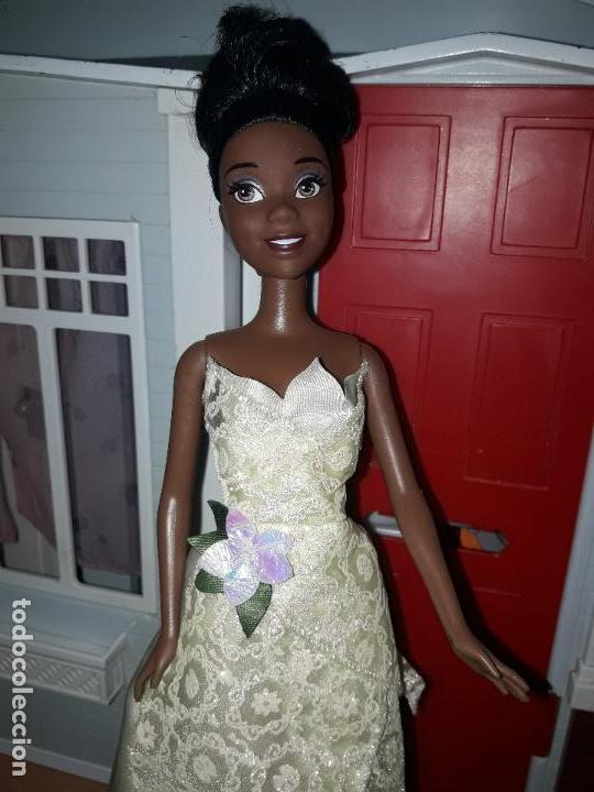 PRECIOSA MUÑECA BARBIE PRICESAS DISNEY VESTIDO INCLUIDO VER FOTOS PRINCESA TIANA Y EL SAPO (Juguetes - Muñeca Extranjera Moderna - Barbie y Ken)