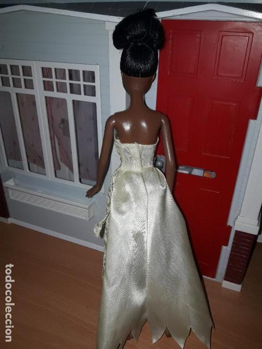Barbie y Ken: preciosa muñeca barbie pricesas disney vestido incluido ver fotos princesa tiana y el sapo - Foto 2 - 92517140