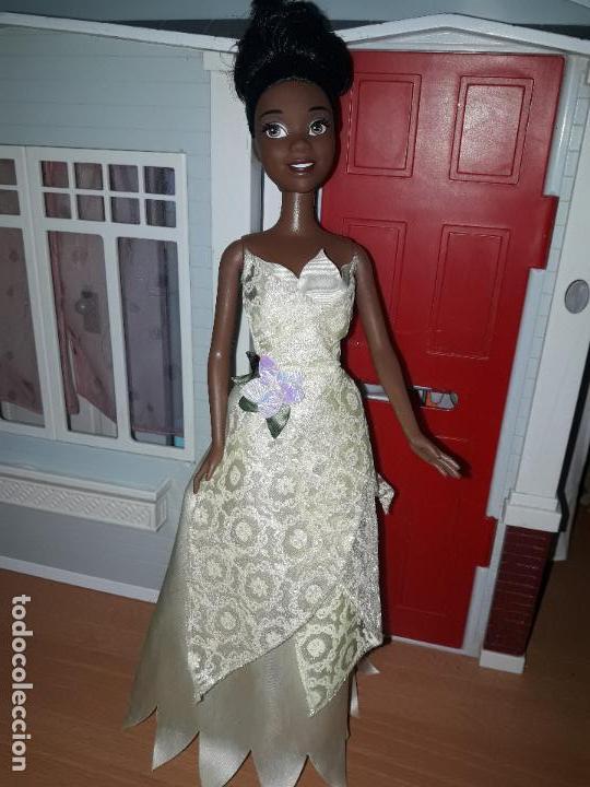Barbie y Ken: preciosa muñeca barbie pricesas disney vestido incluido ver fotos princesa tiana y el sapo - Foto 3 - 92517140