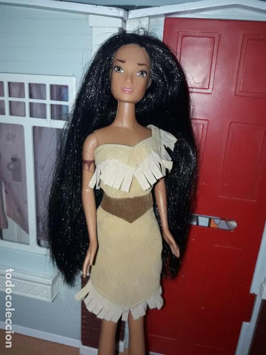 Barbie y Ken: preciosa muñeca barbie pricesas disney vestido incluido ver fotos princesa pocahontas - Foto 2 - 92517430