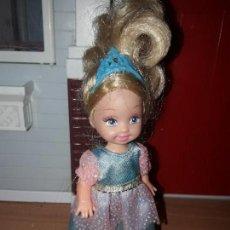 Barbie y Ken: PRECIOSA MUÑECA BARBIE MATTEL HERMANITA O HIJA DE BARBIE ROPA INCLUIDA . Lote 93405480