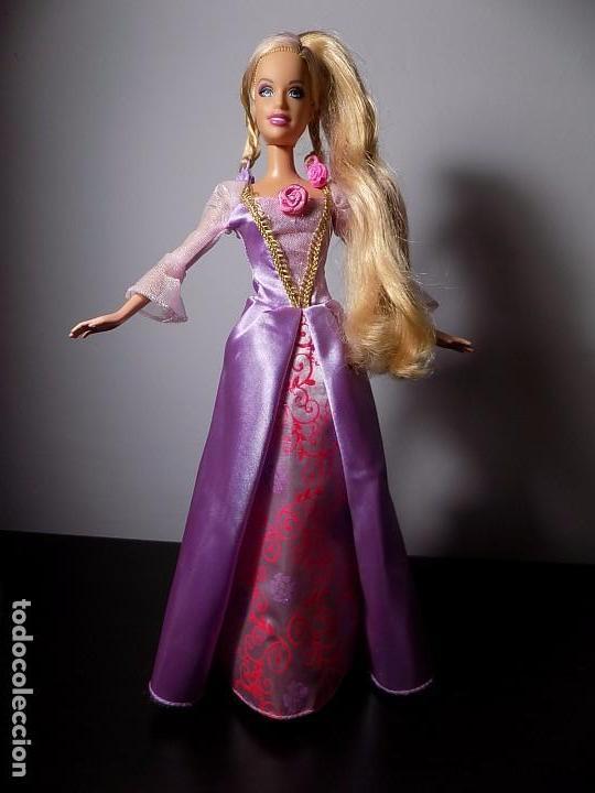 Barbie Rapunzel Muñeca Princesa