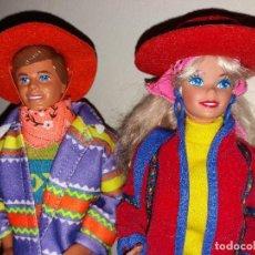 Barbie y Ken: LOTE MUÑECA BARBIE Y KEN BENETTON NUEVOS Y COMPLETOS + DIFICIL BOUTIQUE ORIGINAL MATTEL 1990. Lote 93996975