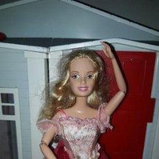 Barbie y Ken: PRECIOSA MUÑECA BARBIE PRINCESA MATTEL ROPA INCLUIDA BUEN ESTADO SERIE PRINCESAS 12 BAILARINAS. Lote 94525282