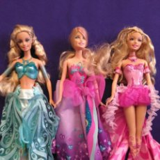 Barbie y Ken: LOTE DE 3 MUÑECAS BARBIE MARIPOSA.. Lote 118368732