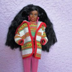 Barbie y Ken: BARBIE NEGRA CHRISTIE UNITED COLORS OF BENETTON. Lote 95471759