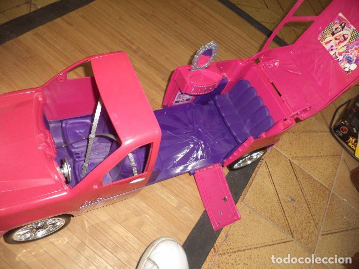 Barbie y Ken: Barbie Fashionista con su coche SUV Cadillac Escalade.Mattel 2010. - Foto 9 - 97685879