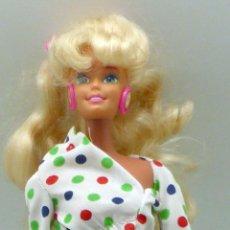 Barbie y Ken: BARBIE MATTEL SPAIN 1966 NUCA 1976 CONJUNTO BLUSA LUNARES PANTALÓN AÑOS 70. Lote 98378491