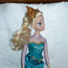 Barbie y Ken: MUÑECA DISNEY ELSA DE FROZEN BARBIE. Lote 98846563