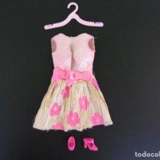 Barbie y Ken: PRECIOSO VESTIDO DE BARBIE VINTAGE GLOWIN'N OUT #3404. BRILLANDO POR FUERA. Lote 98864327