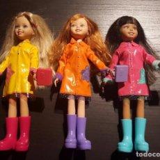 Barbie y Ken: WEE 3 FRIENDS AMIGAS DE BARBIE LOTE DE 3 MUÑECAS STACIE MIRANDA Y JANET MATTEL 2000. Lote 100549723