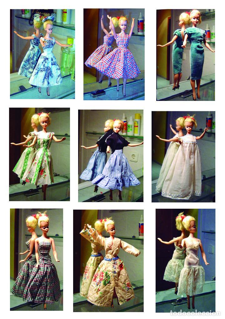 Barbie y Ken: BARBIE (LILLY VON HAUSER) 1957 primera edición traje original y una serie de vestidos de los años 60 - Foto 2 - 102384815
