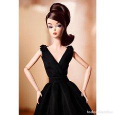 Barbie y Ken - BARBIE SILKSTONE CLASSIC BLACK DRESS FASHION MODEL.TOTALMENTE ARTICULADA. 2016.NUEVA.NRFB - 103079383