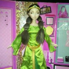 Barbie y Ken: PRECIOSA MUÑECA BARBIE REINA ELINOR DE BRAVE - DISNEY - MATTEL. Lote 106534603