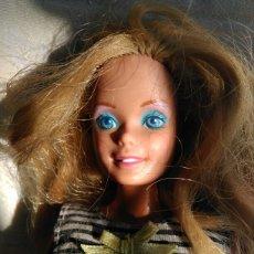 Barbie y Ken: BARBIE OJOS LILA AZUL MATTEL MALASYA 1966 ESPALDA SIN MARCAR NUCA. Lote 106632962