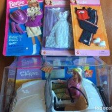 Barbie y Ken: LOTE BARBIE SKIPPER LET'S DRIVE TRU EXCLUSIVE, MODA. Lote 107653239