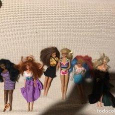 Barbie y Ken: LOTE DE BARBIES MUY ANTIGUAS DISTINTOS MODELOS. Lote 109053855